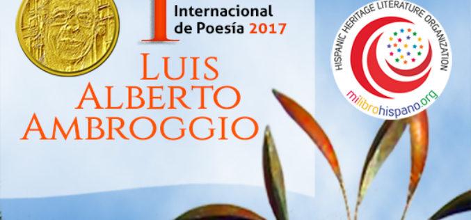 Anuncian primer Certamen Internacional de Poesía Luis Alberto Ambroggio