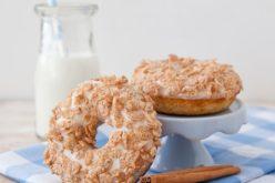 Donas con leche de cereal: una suprema delicia
