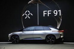 Faraday Future mostró en las Vegas el modelo de producción FF 91