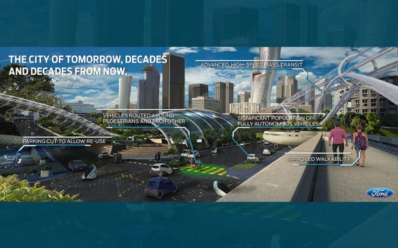 """Ford se llevó toda la atención en Detroit con el anuncio de la """"Ciudad del Mañana"""""""