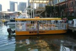 Miami Beach puso en marcha su servicio de taxi marítimo