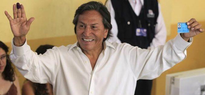 Perú tras la pista de expresidente peruano Toledo en Estados Unidos