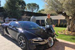 Cristiano Ronaldo pone oficialmente a prueba el Bugatti Chiron