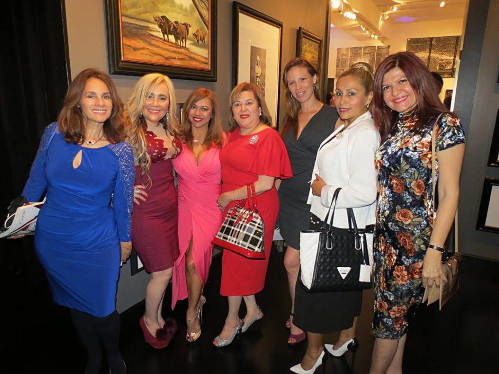Giconda, Marisol Casola, Leida Alvarez, Roxanna Corcuera, Manuela Lopez, Ariela Diaz y Marybel Torres