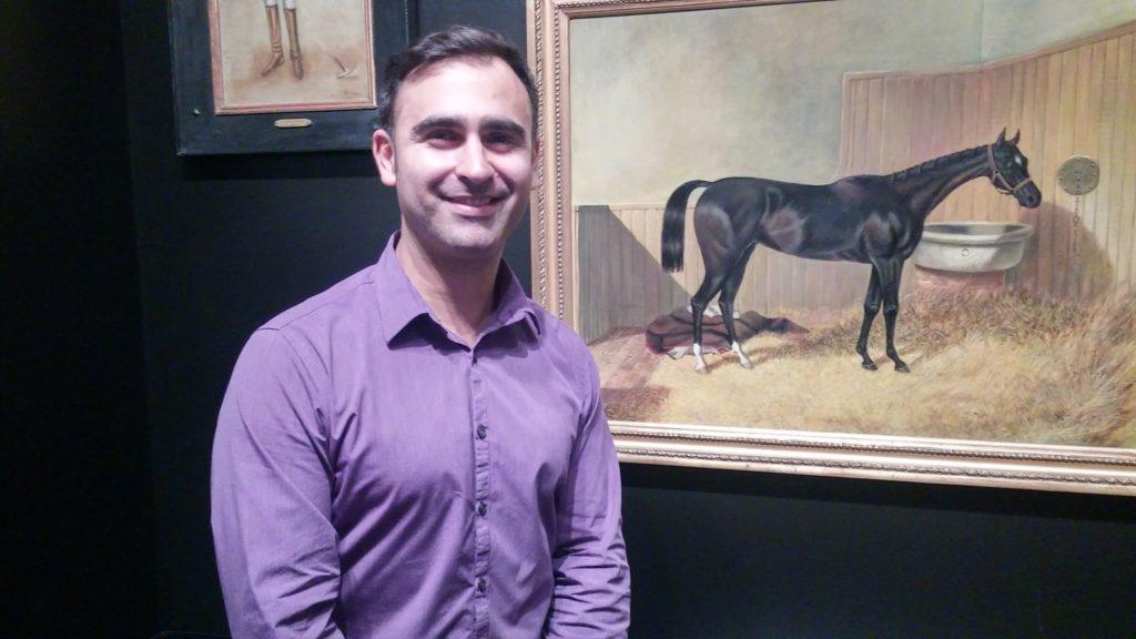 Juan David Lopez, director de Bruggens Gallery