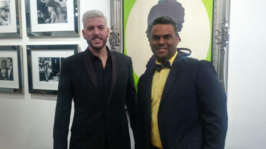 Carlos Junquera, y Andres Gonzalez, director y fundador de Fashion for a Cause's.