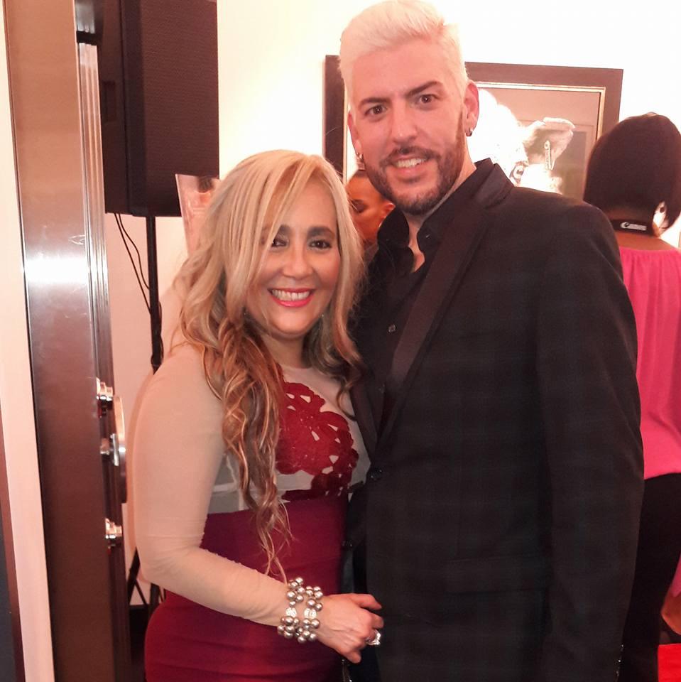 Marisol Casola de La Per Beauty Salón y Carlos Junquera de Fashion for a Cause's.