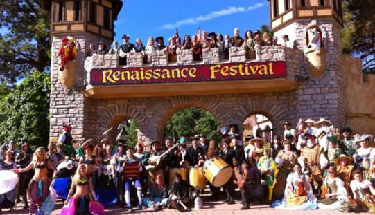 Viva la magia del siglo XVI en el Renaissence Festival