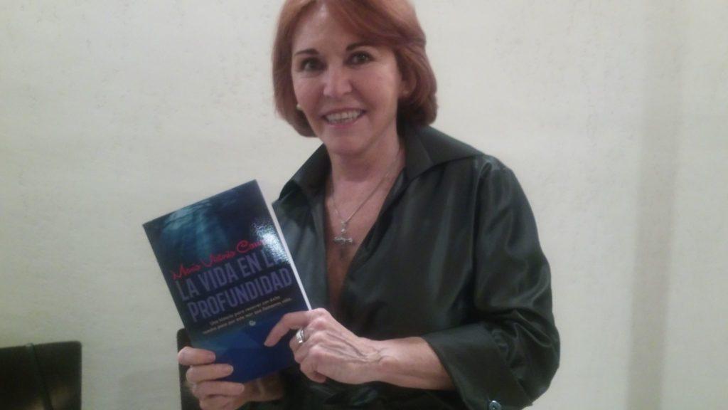 """María Victoria Carrasco, autora de """"La vida en Profundidad."""