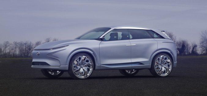 Hyundai develó un nuevo y más eficiente vehículo de pila de combustible