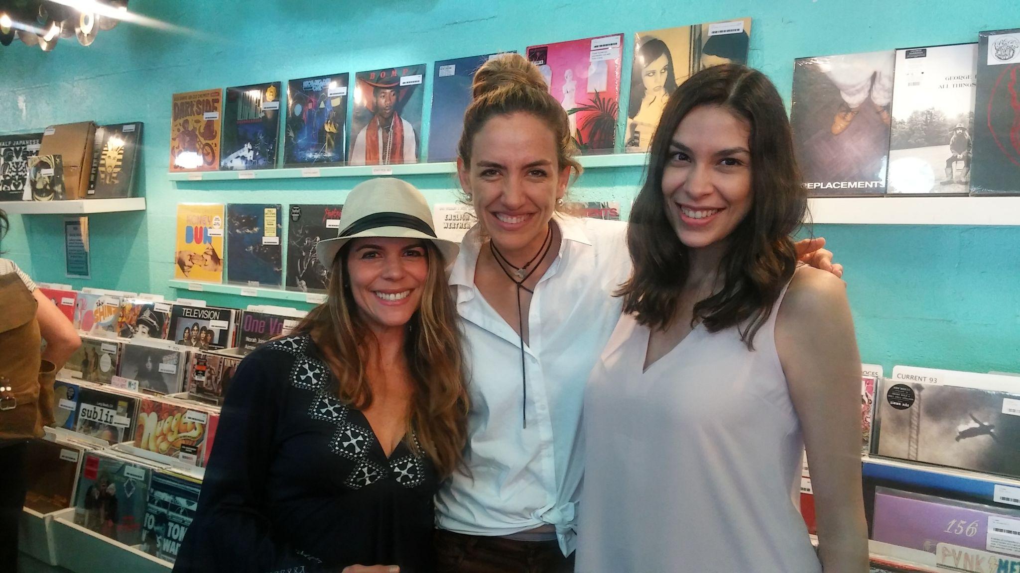 Gina Tinoco, Marinés Duarte y Nadia Noya.
