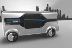 """Ford presentó en Barcelona un visionario concepto: su """"Autolivery"""""""