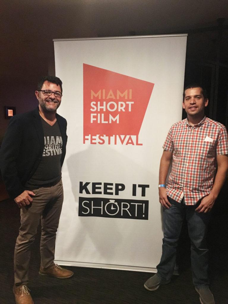 Su exitoso paso como jurado del Miami Short Film Festival.
