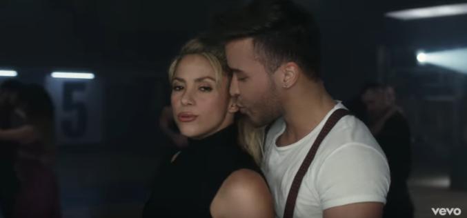 "Shakira y Prince Royce presentaron su video ""Deja vu"""