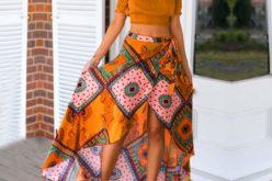 Las faldas asimétricas marcan tendencia