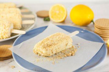 Paletas de pie de limón: el postre más refrescante
