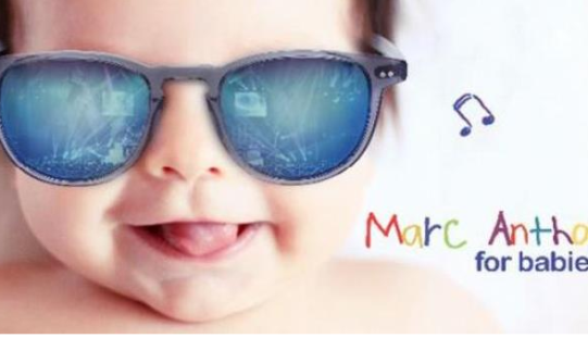 """Marc Anthony lanza """"Marc Anthony for babies"""""""