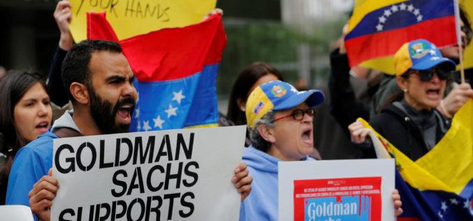 ¿Goldman Sachs financia la dictadura de Maduro en Venezuela?