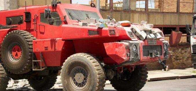 """""""Marauder"""", el vehículo más imparable del mundo"""