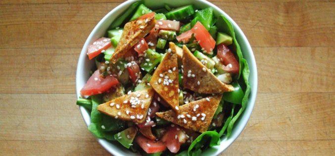 Ensalada verde de pollo: delicioso equilibrio