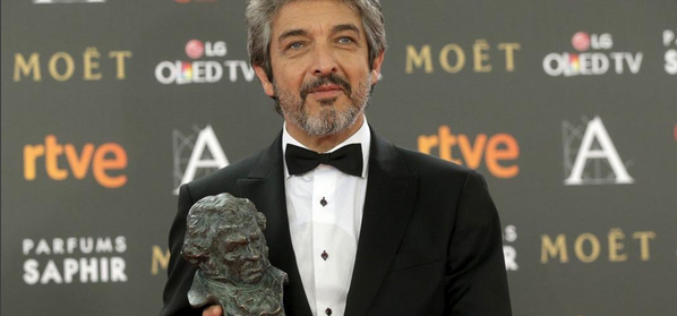 Ricardo Darín recibe Premio Donostia del Festival de San Sebastián