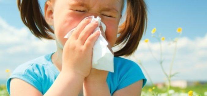 ¿Cómo aliviar las alergias en los niños?