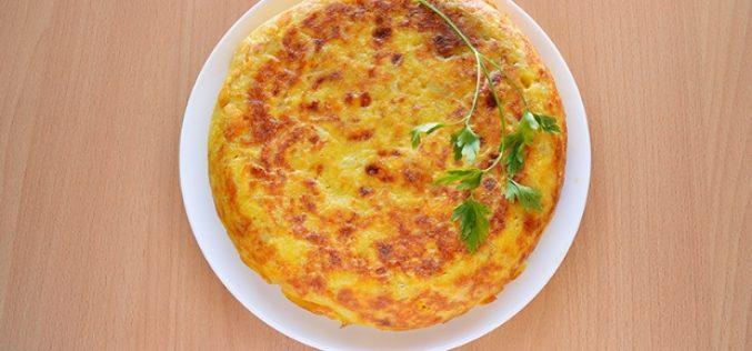 Tortilla de batata y chorizo: una alternativa rica y saludable