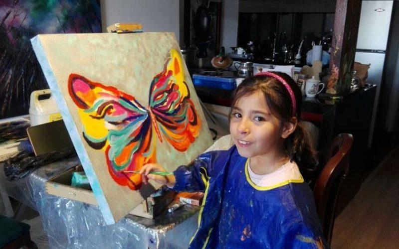 Sophie Restrepo Castrillón: un novel talento de la pintura
