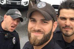 """Los """"policías más sexies"""" de Florida causaron furor en medio del huracán Irma"""
