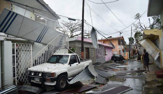 Puerto Rico tiene en puertas una crisis humanitaria tras huracán María