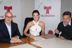 Marjorie de Sousa firmó contrato exclusivo con Telemundo
