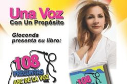 """108 Preguntas ABC de la Voz"" de Gioconda, premiado por Latino Book Awards"