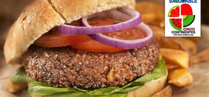 Cocina saludable: hamburguesa de quinua