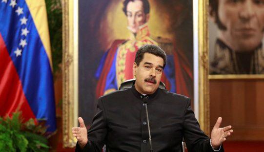 Maduro irá a elecciones si le suspenden las sanciones financieras en su contra