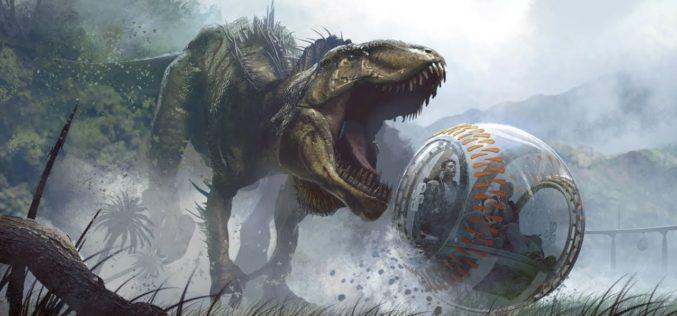 "Lanzan trailer de ""Jurassic World: Fallen Kingdom"""
